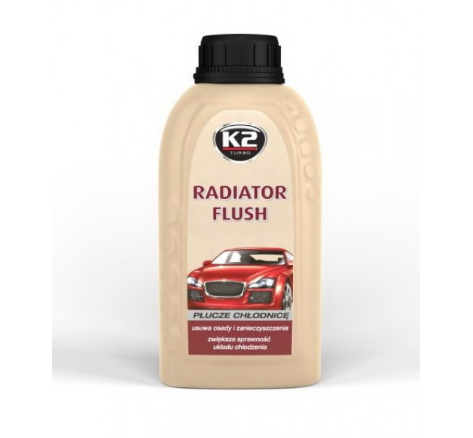 K2 Radiator Flush T220 (400 мл) очиститель радиатора, цена: 75 грн.