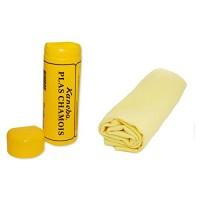 Салфетка замшевая Kanebo PLAS CHAMOIS в тубе 64х43 см
