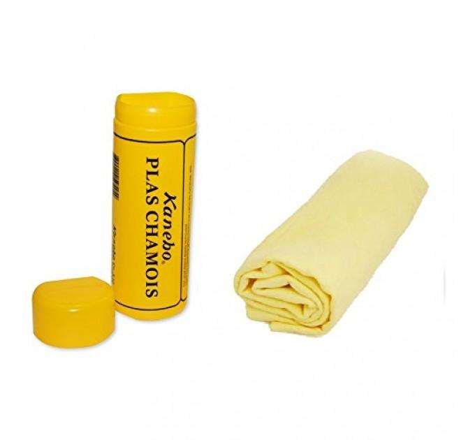 Салфетка замшевая Kanebo PLAS CHAMOIS в тубе 64х43 см, цена: 65 грн.