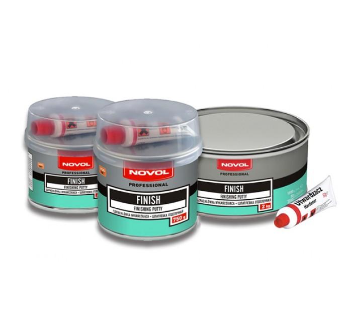 Novol Finish шпатлевка отделочная в ассортименте, цена: 85 грн.