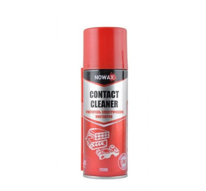 Nowax Contact Cleaner NX20020 (200 мл) cмазка электроконтактов, цена: 56 грн.