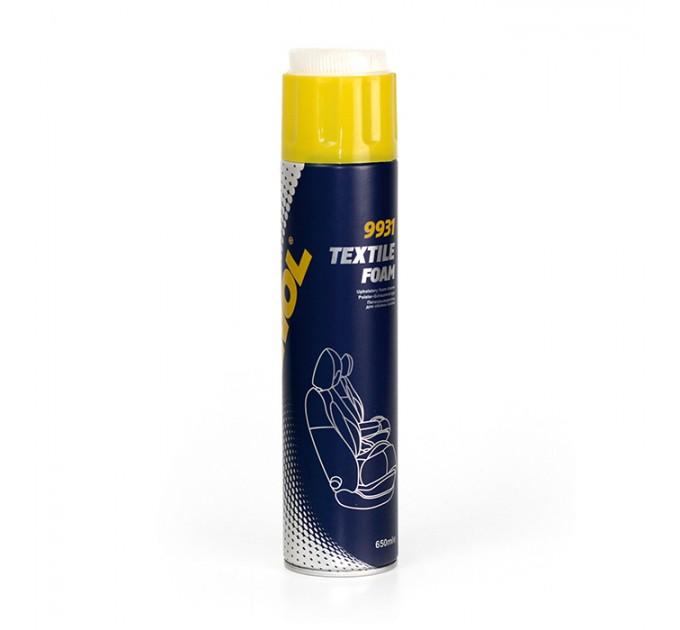 Mannol Textile Foam 9931 (650 мл) cредство для чистки салона, цена: 104 грн.