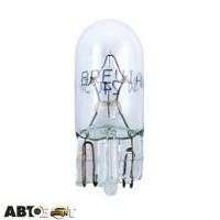 Лампа накаливания BREVIA W5W/W2.1x9.5d 12V 12308C (1 шт.)