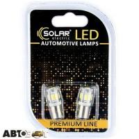 LED лампа SOLAR T8.5 BA9s 12V 9SMD 5730 white SL1335 (2 шт.)
