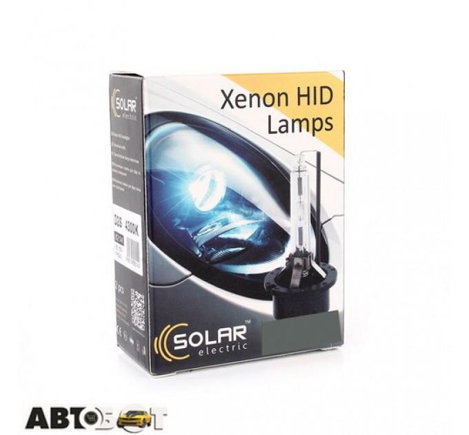 Ксеноновая лампа SOLAR D2S(P32d-2) 5000K 8215 (2шт.)