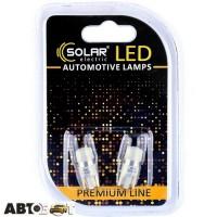 LED лампа SOLAR T10 W2.1x9.5d 12V 1SMD 3030 CANBUS white SL1340 (2 шт.)