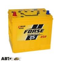 Автомобильный аккумулятор FORSE (Ista) 6СТ-75 Аз JP