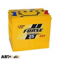 Автомобильный аккумулятор FORSE (Ista) 6СТ-75 АзЕ JP