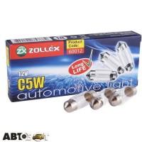 Лампа накаливания Zollex C5W 12V 35mm 60012 (1 шт.)