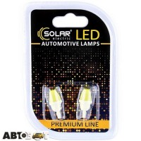 LED лампа SOLAR T10 W2.1x9.5d 12V 1COB white SL1337 (2 шт.)