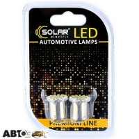 LED лампа SOLAR G18.5 BA15s 12V 22SMD 3020 white SL1381 (2 шт.)