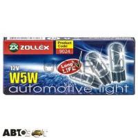 Лампа накаливания Zollex W5W 12V 9024 (1 шт.)