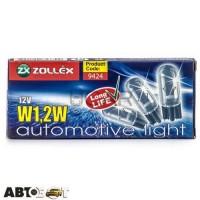 Лампа накаливания Zollex W1.2W 12V 9424 (1 шт.)