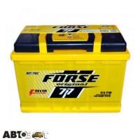 Автомобильный аккумулятор FORSE (Ista) 6СТ-77 АзЕ
