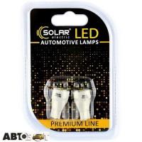 LED лампа SOLAR T10 W2.1x9.5d 12V 5SMD 2835 white SL1339 (2 шт.)