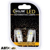 LED лампа SOLAR T10 W2.1x9.5d 12V 5SMD 5050 white SL1330 (2 шт.)