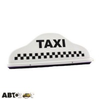 Шашка такси EX LED Наполеон белая