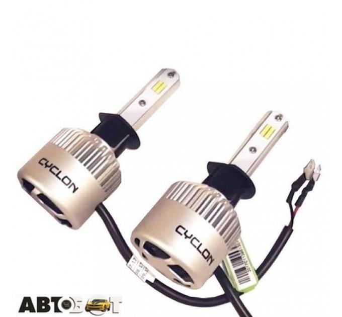 LED лампа CYCLON CSP FAN type 8 H1 5000K 8000Lm CSP FAN (2 шт.), цена: 1 185 грн.