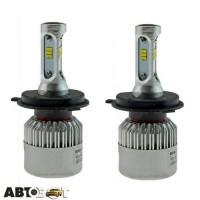 LED лампа CYCLON CSP FAN type 8 LED H4 Hi/Low 5000K 8000Lm (2 шт.)