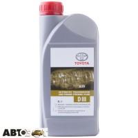 Трансмиссионное масло Toyota ATF Dexron III 08886-80506 1л