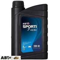 Моторное масло ELF SPORTI 7 A3/B4 10W-40 1л