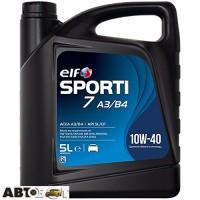 Моторное масло ELF SPORTI 7 A3/B4 10W-40 5л