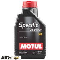 Моторное масло MOTUL Specific 2312 SAE 0W30 867511 1л