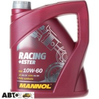 Моторное масло MANNOL Racing+Ester 10W-60 4л