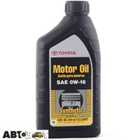 Моторное масло Toyota Synthetic Motor Oil 0W-16 0027916QTE 946мл