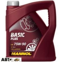 Трансмиссионное масло MANNOL BASIC Plus Getriebeoel 75W-90 4л