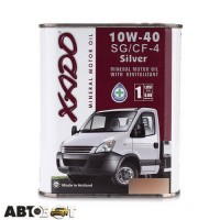 Моторное масло XADO Atomic Oil 10W-40 Silver SG/CF-4 XA 20123 1л