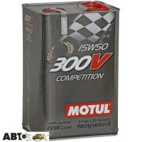 Моторное масло MOTUL 300V Competition 15W-50 825751 5л