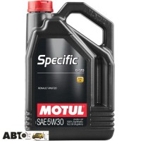 Моторное масло MOTUL Specific 0720 SAE 5W30 102209 5л