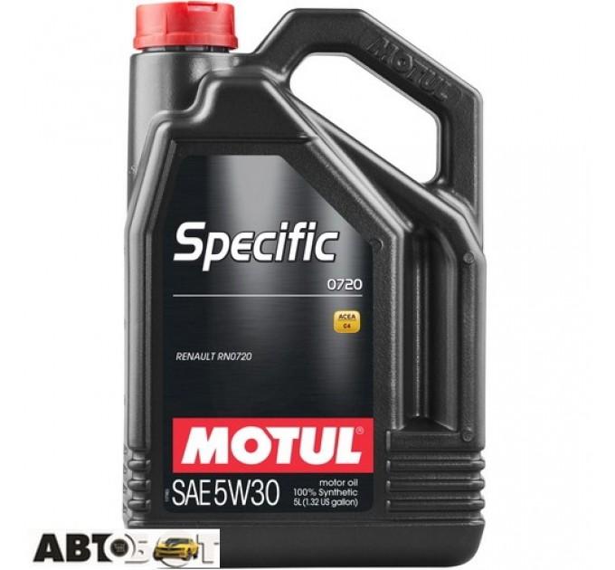 Моторное масло MOTUL Specific 0720 SAE 5W30 102209 5л, цена: 1 350 грн.
