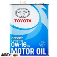 Моторное масло Toyota 0W-16 SN 08880-12105 4л