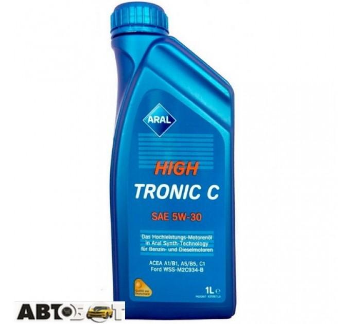 Моторное масло ARAL HighTronic C 5W-30 1л, цена: 308 грн.
