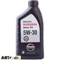 Моторное масло Nissan Genuine Motor Oil 5W-30 999PK005W30N 0.946л