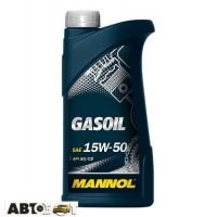 Моторное масло MANNOL Gasoil 15W-50 1л