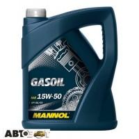Моторное масло MANNOL Gasoil 15W-50 4л