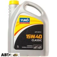 Моторное масло Yuko CLASSIC 15W-40 5л
