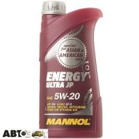 Моторное масло MANNOL ENERGY ULTRA JP 5W-20 1л