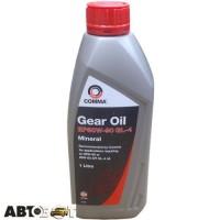 Трансмиссионное масло Comma GEAR OIL EP80-90 GL4 1л