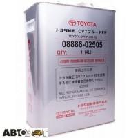 Трансмиссионное масло Toyota CVT Fluid FE 0888602505 4л