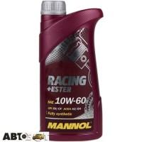 Моторное масло MANNOL Racing+Ester 10W-60 1л