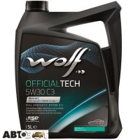 Моторное масло WOLF OFFICIALTECH 5W-30 C2/C3 5л