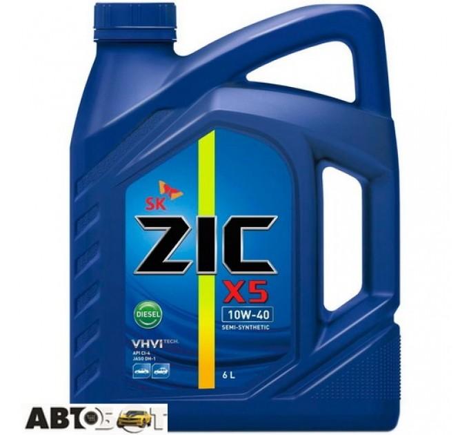 Моторное масло ZIC X5 Diesel 10W-40 6л, цена: 690 грн.
