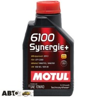 Моторное масло MOTUL 6100 Synergie+ 10W-40 839411 1л
