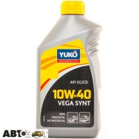 Моторное масло Yuko VEGA SYNT 10W-40 1л