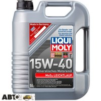 Моторне масло LIQUI MOLY MoS2 LEICHTLAUF 15W-40 1933 5л