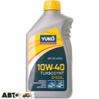 Моторное масло Yuko TURBOSYNT DIESEL 10W-40 1л